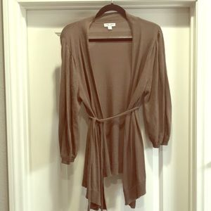 Maternity Brown Cardigan in size Large